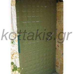 Πορτες απο πρεσσαριστη λαμαρινα